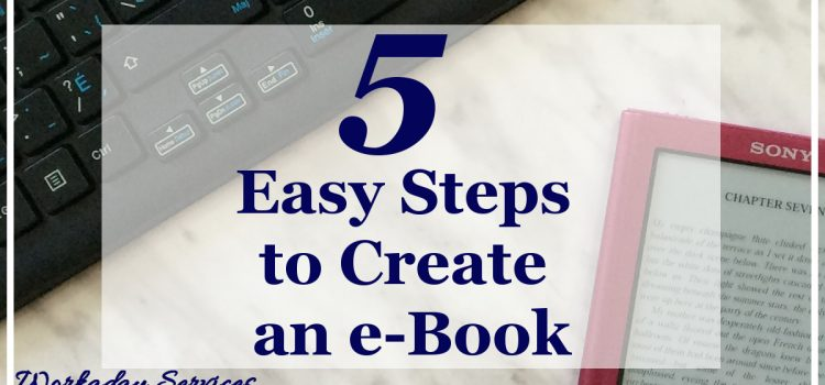 5 Easy Steps to Create an e-Book banner