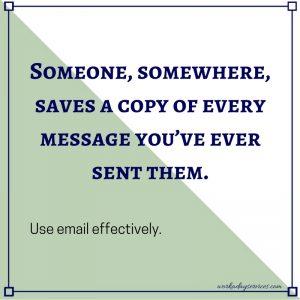 Email Saving