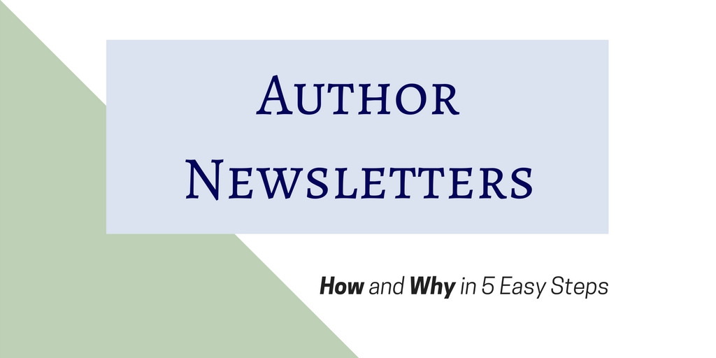 Author Newsletter banner