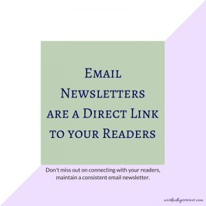 Author newsletter - direct link