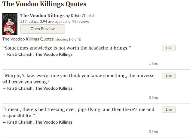 Goodreads Quote page