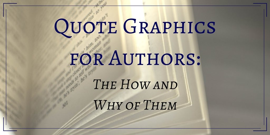 Quote Graphics for Authors banner