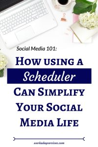 Social Media 101 - Using Schedulers to Simplify Social Media Life