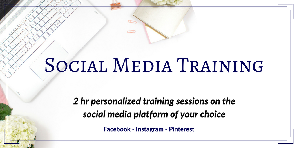 Social Media Training Sessions