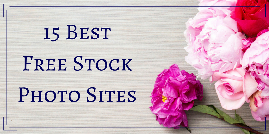 15 Best Free Stock Photo Sites banner