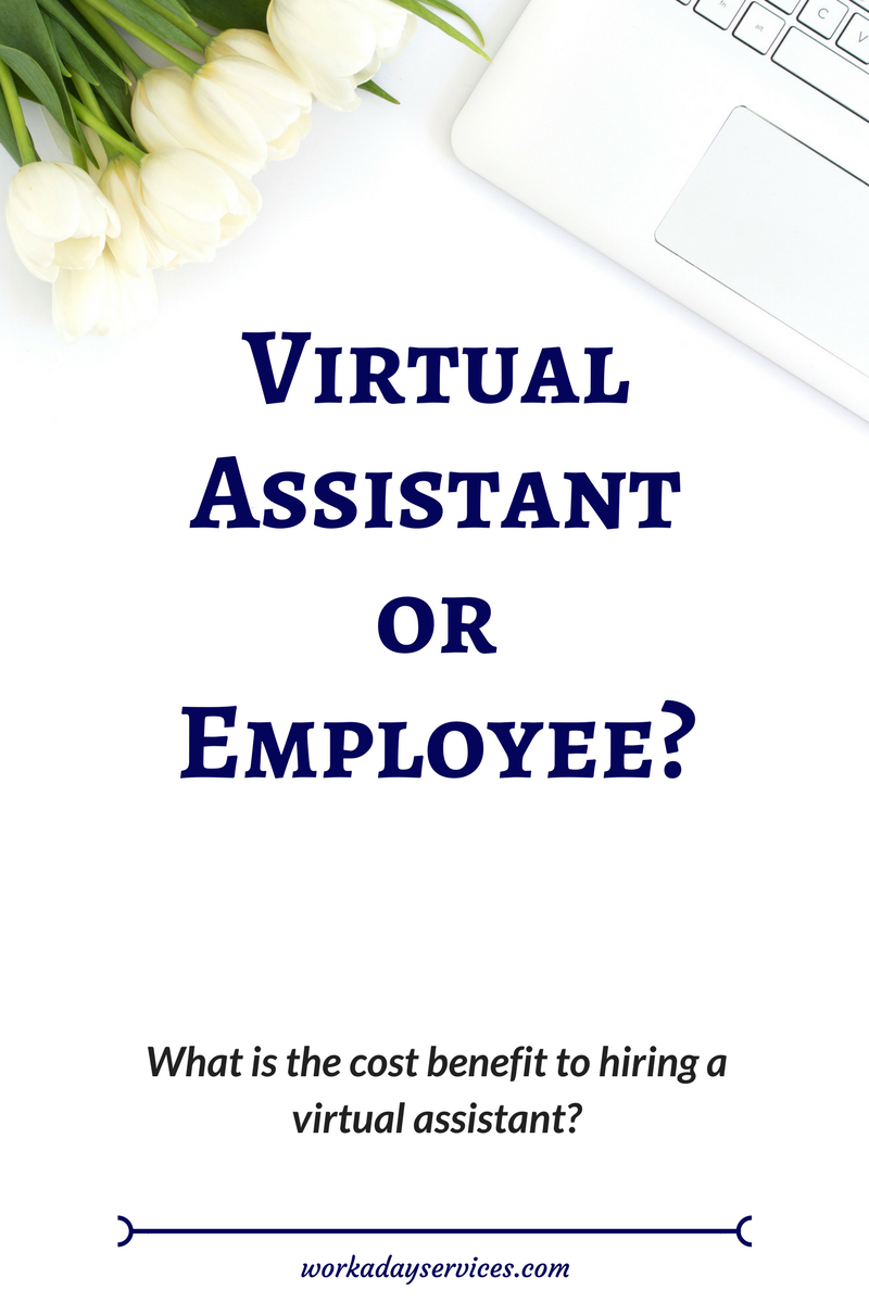 Virtual Assistant or Employee pinterest