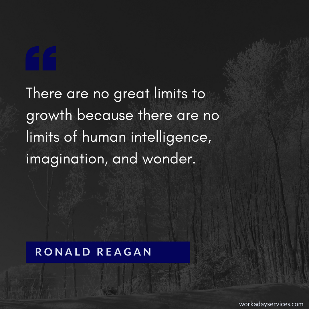 Ronald Reagan quote on limits