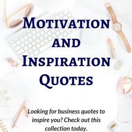 Motivation and Inspiration Quotes: May 20-Jun 2