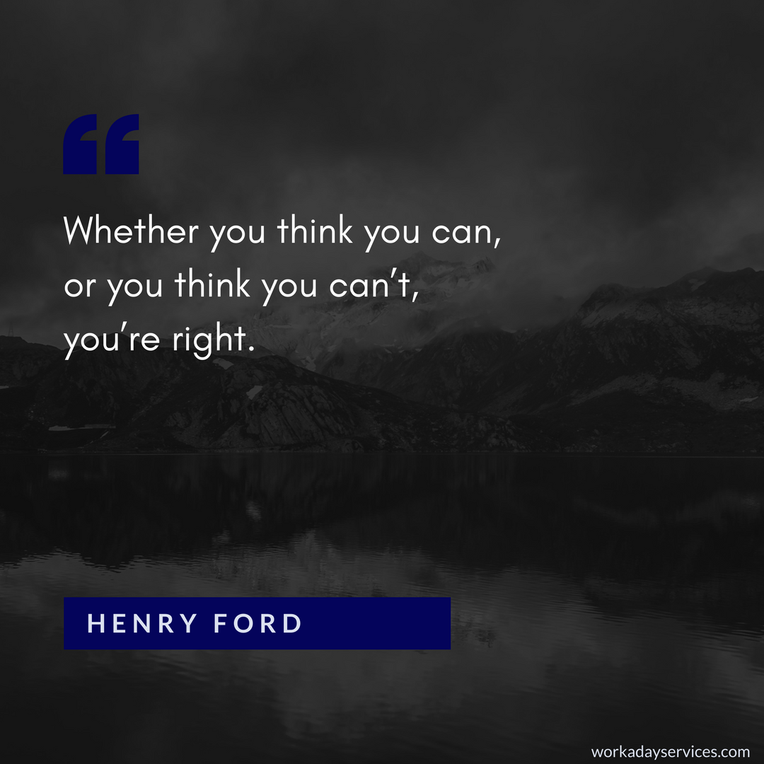 Henry Ford quote about what you can do