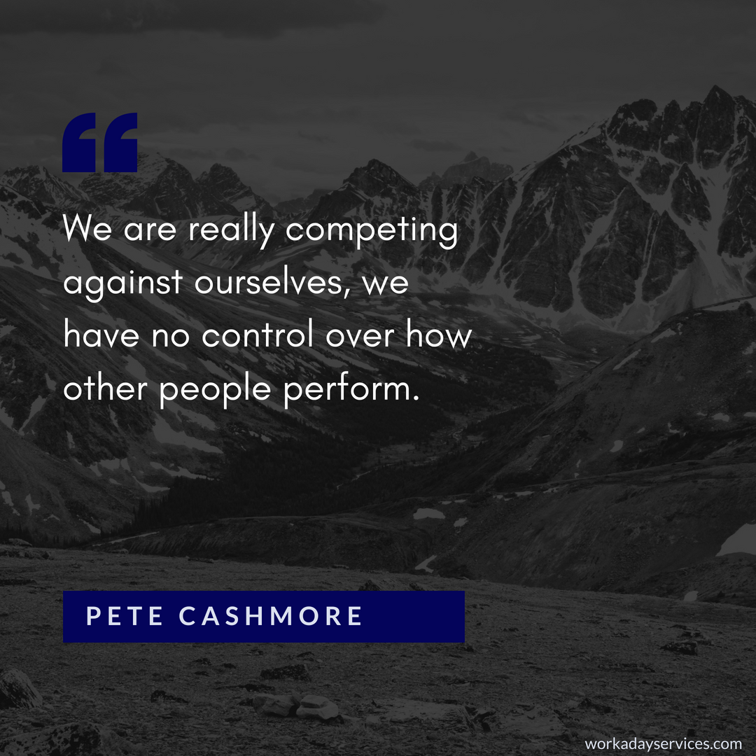 Pete Cashmore quote about competition